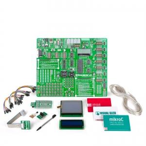 mikroLAB 8051 arendusplatvorm + mikroC kompilaator