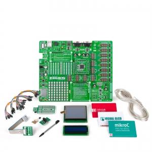 mikroLAB 8051 L arendusplatvorm + mikroC kompilaator