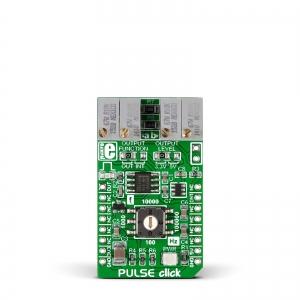 PULSE click - NE555 taimeriga generaator, 0.05Hz - 100kHz