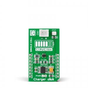 Charger click - MCP73831 Li-Po/Li-Ion akulaadija moodul