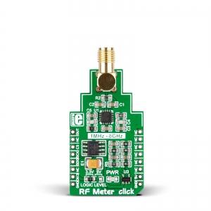RF Meter click - 1MHz - 8GHz RF võimsusmõõtja moodul