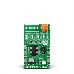 Stepper 3 click - ULN2003 samm-mootori draiveri moodul