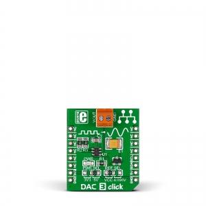 DAC 3 Click - MCP4726  12-bit DA muunduri moodul