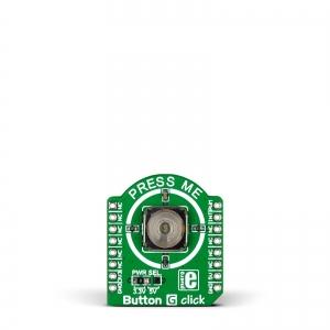 Button G click - lülitimoodul LED indikatsiooniga, roheline