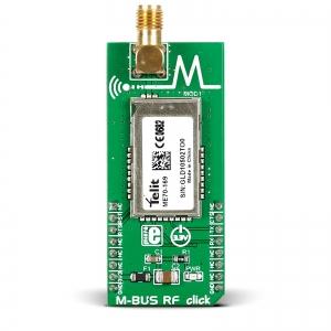 M-BUS RF click - ME70  169MHz raadiomodemi moodul
