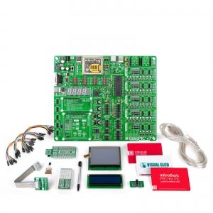 mikroLAB PIC arendusplatvorm + mikroBasic kompilaator