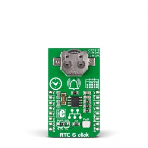 RTC 6 click - MCP79410 reaalaja kell/kalendri moodul