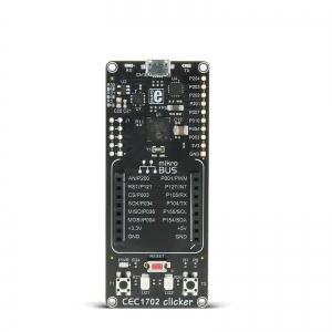 CEC1702 Clicker - stardiplatvorm ARM Cortex-M4 mikrokontrolleriga