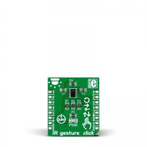 IR Gesture click - käeviipe/suuna infrapuna anduri moodul
