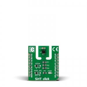 SHT click - SHT3x-DIS õhuniiskuse ja temperatuurianduri moodul