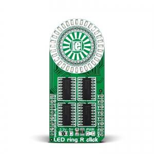 LED ring R click - LED ringindikaator, punane