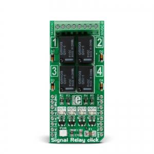 Signal Relay click - 4 väljundiga releemoodul