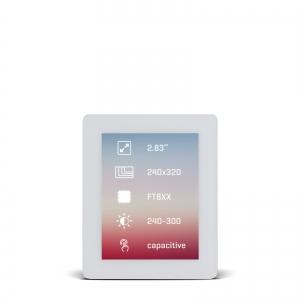 Riverdi TFT displei 2.8´´ 320x240px, puutetundlik, valge raam