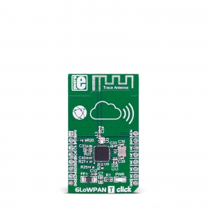6LowPAN T Click - CC2520  2.4GHz transiiveri moodul
