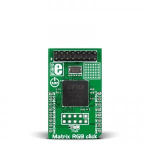 Matrix RGB click - FT900 RGB LED maatriks displei kontroller