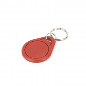RFiD 13.56MHz transponder võtmehoidja, punane