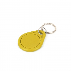 RFiD 13.56MHz transponder võtmehoidja, kollane