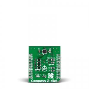 Compass 2 click - AK8963 kompassi moodul