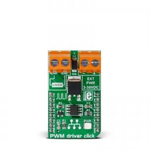 PWM driver click - optoisolaatoriga mootoridraiveri moodul