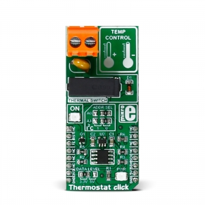 Thermostat click - MAX7502 temperatuurianduriga termostaat