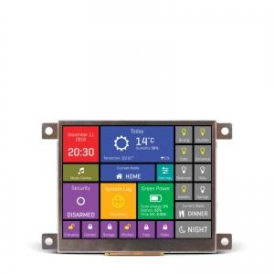 mikromedia HMI 3.5´´ nutikas displei FT900Q mikrokontrolleriga