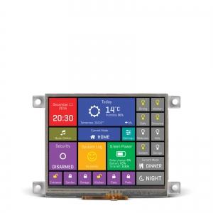 mikromedia HMI 3.5´´ nutikas puutetundlik displei FT900Q mikrokontrolleriga