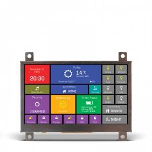 mikromedia HMI 4.3´´ nutikas displei FT900Q mikrokontrolleriga
