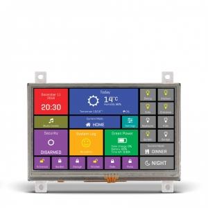 mikromedia HMI 4.3´´ nutikas puutetundlik displei FT900Q mikrokontrolleriga