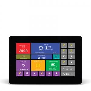 mikromedia HMI 4.3´´ nutikas puutetundlik displei FT900Q mikrokontrolleriga, must raam