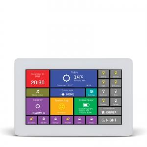 mikromedia HMI 4.3´´ nutikas puutetundlik displei FT900Q mikrokontrolleriga, valge raam