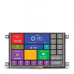 mikromedia HMI 5´´ nutikas puutetundlik displei FT900Q mikrokontrolleriga