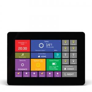 mikromedia HMI 5´´ nutikas puutetundlik displei FT900Q mikrokontrolleriga, must raam