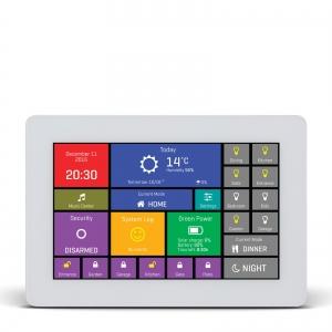 mikromedia HMI 5´´ nutikas puutetundlik displei FT900Q mikrokontrolleriga, valge raam