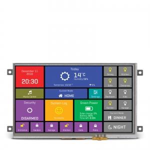 mikromedia HMI 7´´ nutikas puutetundlik displei FT900Q mikrokontrolleriga