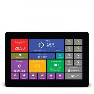 mikromedia HMI 7´´ nutikas puutetundlik displei FT900Q mikrokontrolleriga, must raam