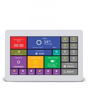 mikromedia HMI 7´´ nutikas puutetundlik displei FT900Q mikrokontrolleriga, valge raam