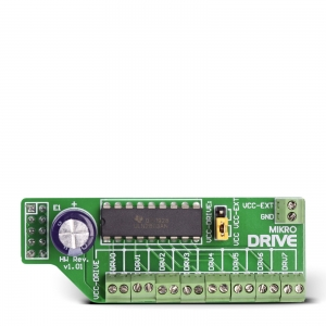 mikroDrive - ULN2803 draiveri moodul
