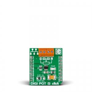 DIGI POT 2 click - TPL0501 digi potentsiomeetri moodul