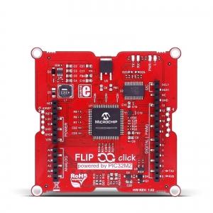 Flip&Click PIC32MZ - chipKIT stardiplatvorm 4 click pesaga