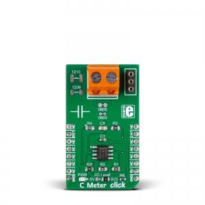 C Meter click - mahtuvuse mõõtja moodul