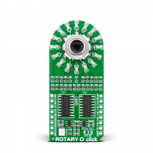 ROTARY O click - pöördenkooder LED indikatsiooniga, oranž