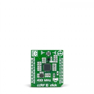 ccRF3 click - CC1120  433MHz transiiveri moodul