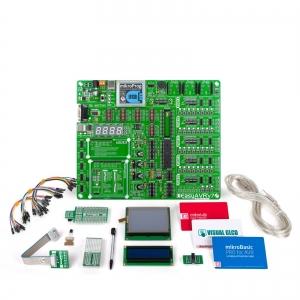 mikroLAB AVR arendusplatvorm + mikroBasic kompilaator