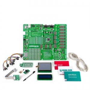 mikroLAB 8051 L arendusplatvorm + mikroBasic kompilaator