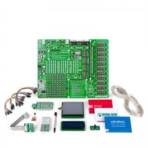 mikroLAB AVR L arendusplatvorm + mikroBasic kompilaator