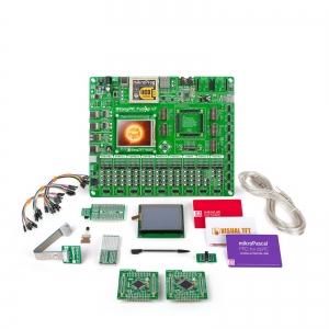 mikroLAB dsPIC L arendusplatvorm + mikroPascal kompilaator