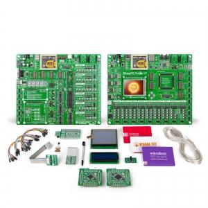 mikroLAB dsPIC XL arendusplatvorm + mikroBasic kompilaator