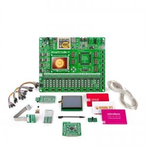 mikroLAB PIC32 arendusplatvorm + mikroBasic kompilaator
