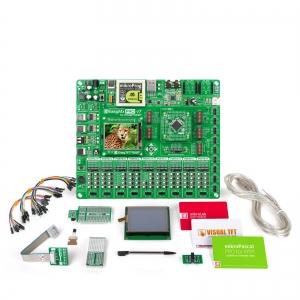 mikroLAB STM32 arendusplatvorm + mikroPascal kompilaator