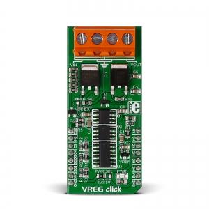 VREG click - LM317 pingeregulaatori moodul